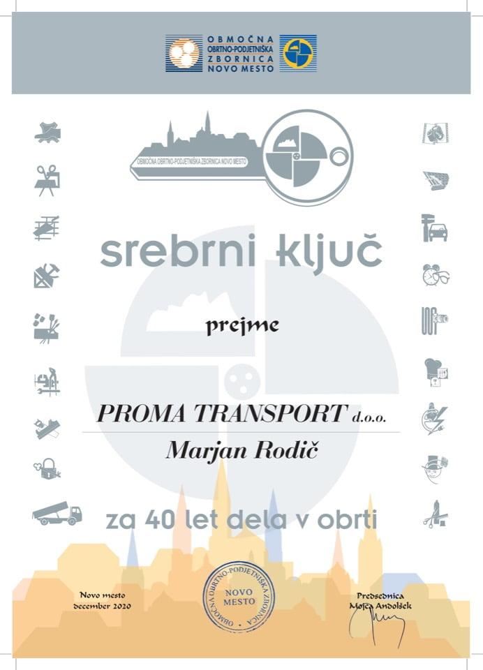 Srebrni kljuc_40-proma-transport